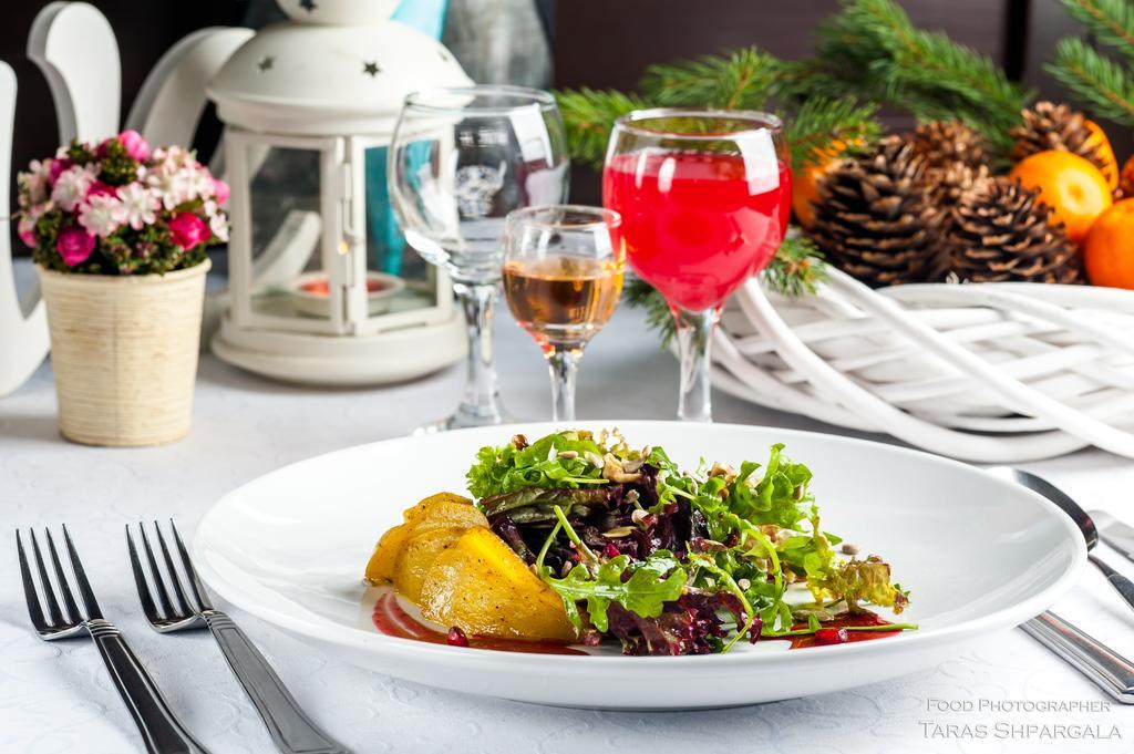 Салат з карамелізованою грушею